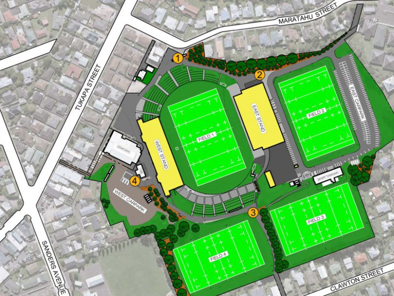 Yarrow Stadium Master Plan